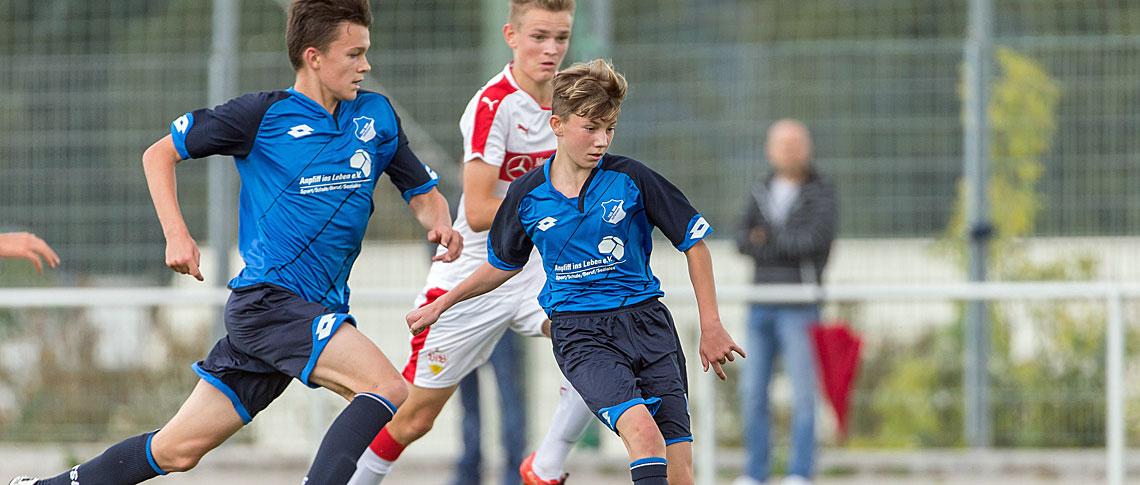 U15 Talente Kruger Und Seitz Fahren Zum Dfb Tsg Hoffenheim