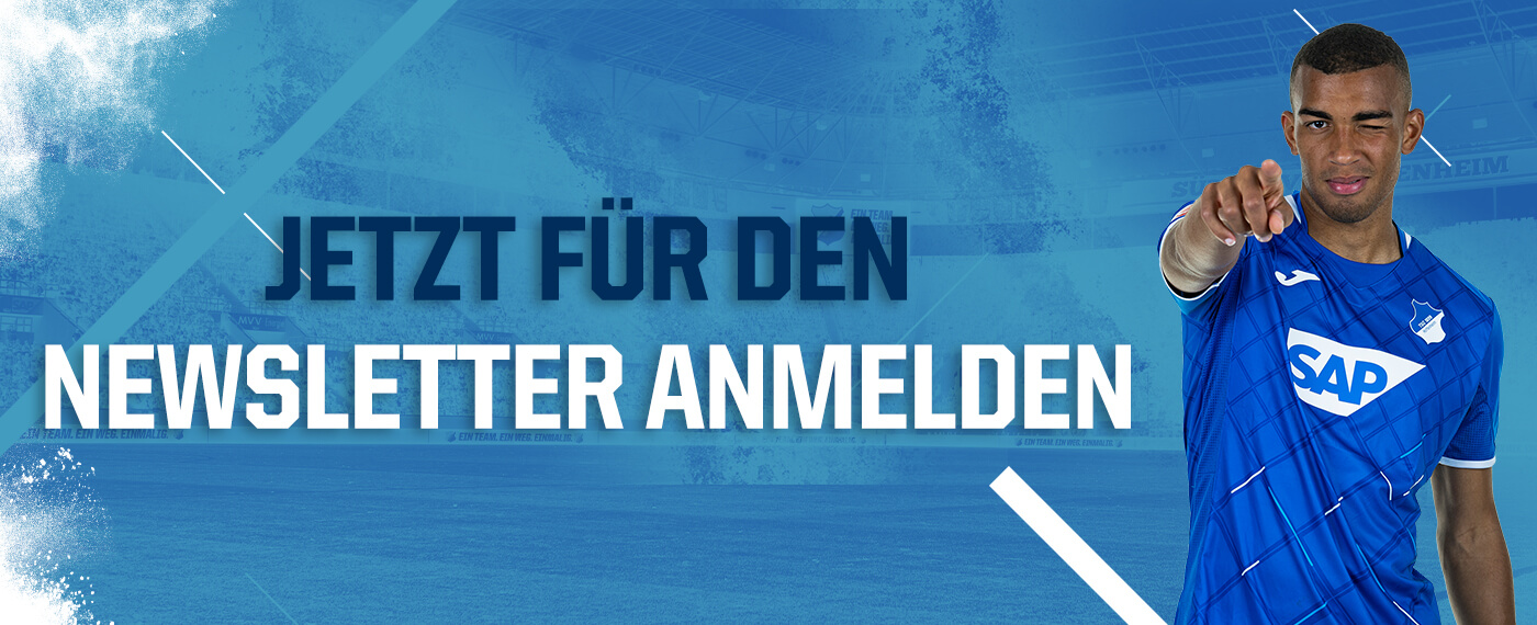 tsg hoffenheim Website Newsletter header