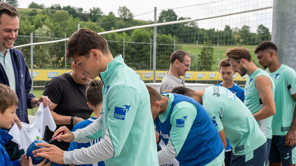 14082019 sap Hoffenheim Youngsters Neumitgliederevent