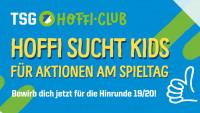 01082019 sp Hoffeneim Header HC Einlauf und Fahnenkinder