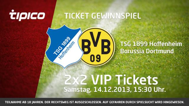 Karten Hoffenheim Dortmund