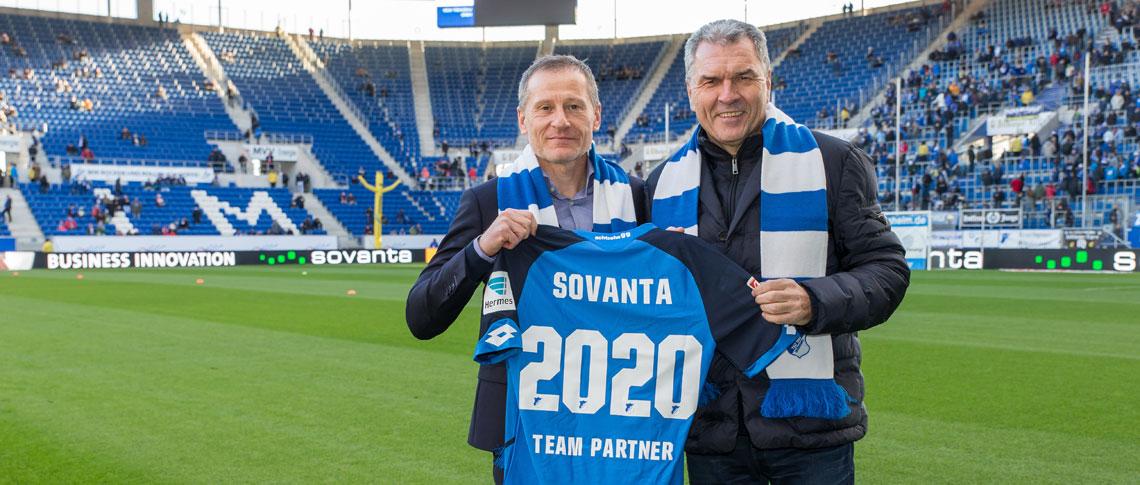 sovanta AG extends its engagement with TSG » achtzehn99
